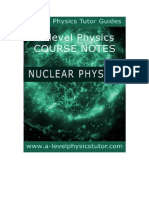 Nuclear Physics A level revision