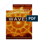 Waves A level physics