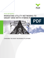 Migrating Utility Networks to Smart Grid With Hybrid Radios