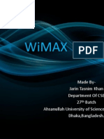 WiMAX Basics