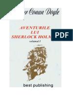 Arthur Conan Doyle - Aventurile Lui Sherlock Holmes Vol. 1(1)