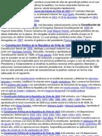Cambios en La Constitucion 1823 a 1980