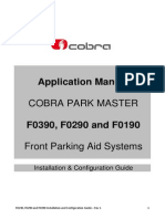 Cobra Park Master F0390 F0290 F0190 Installation and Configuration Guide - Rev 1
