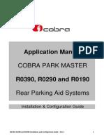 Cobra Park Master R0390 R0290 R0190 Installation and Configuration Guide - Rev 1