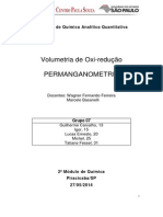 Relatório Permanganometria