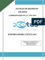 PLAN DE MANEJO DE RESIDUOS SÓLIDOS 2014.pdf