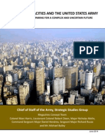 Megacities and the U.S. Army