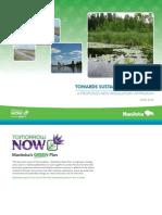 Plan d'action du Manitoba pour protéger le lac Winnipeg