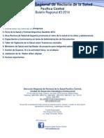 Boletín Regional 3-2014