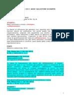 DIFFAMAZIONE INGIURIA TG3 PIANO ARIA 2007 CIAMPOLILLO mem.art.183,6°-n.1_121012 _giurisprudenza_