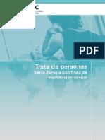 Trata de Personas Hacia Europa Con Fines de Explotación Sexual 1996-2007