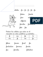 Guia Letra f