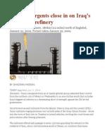 Sunni Insurgents Close in on Iraq's Biggest Oil Refinery