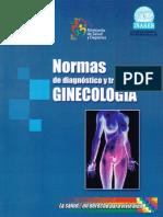 Normas de Diagnostico y MedicinaTratamiento en Ginecologia y Obstetrica