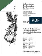 J.M. Rollez - Double Bass Method Book 1