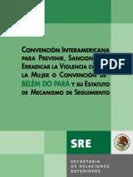 11.Convención de Belem Do Pará-Estatuto y Mecanismos de Seguimiento