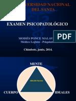EXAMEN PSICOPATOLOGICO