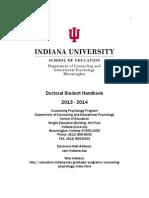 Counseling Psychology Student Handbook