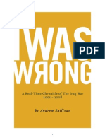 Andrew Sullivan - I Was Wrong