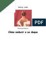 Caskie Kathryn - Hermanas Royle 01 - Como Seducir a Un Duque