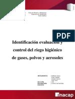 Control - Gases, Polvos y Aerosoles