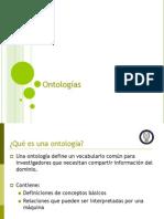 definicion ontologia