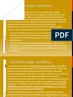 Historicismo Juridico i