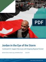Jordan in the Eye of the Storm