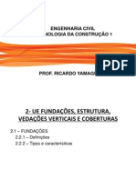 Tecnologia Da Construção i - Fundações(1)