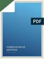 Informe Final. Proceso Cognitivo Formulacion de Hipòtesis