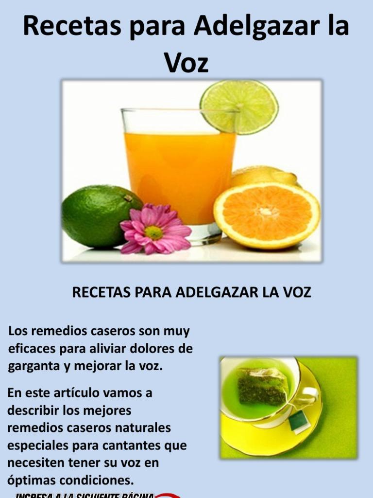 Remedios naturales para adelgazar