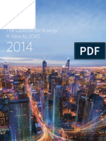 2014 Outlook for Energy