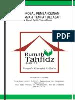 Proposal Pembangunan Asrama Santri Tahfidz Qur'an