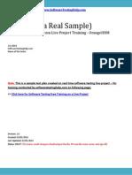 Test Plan SoftwareTesting