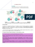 Datos de La Violencia Contra Las Mujeres - Bolivia