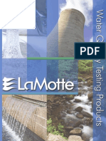 LaMotte 2007 Water Quality Testing Products Catalog