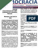 Barómetro Legislativo Diario del miércoles, 11 de junio de 2014.pdf