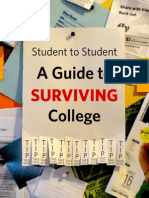 Student to Student a Guide to Surviving College