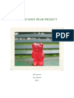 AP Statistics Project - Gummy Bears