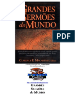 Grandes Sermoes Do Mundo (Clarence E. Macartney)