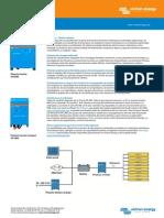 Victron - Inversor - Phoenix Inverter - Hoja Técnica - 1200, 1600, 2000, 3000, 5000VA - 230 VAC