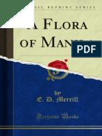 A Flora Of Manila