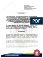 Decreto No 0113 de 2014