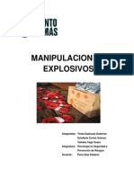 Manipulacion de Explosivos