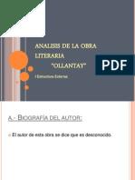 Analisisdelaobraliteraria- El Ollantay