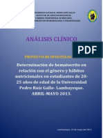analisis clinico proyecto