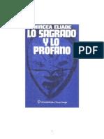 2013 Libro Eliade Lo Sagrado y Lo Profano