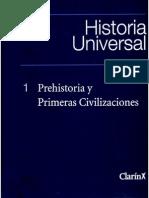 Historia Universal Tomo 1 Prehistoria y Primeras Civilizaciones