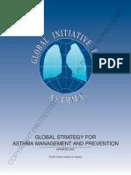 GINA. Criterios Globales Para La Prevención y El Tratamiento Del Asma