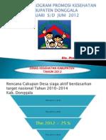 Evaluasi Promkes Tahun 2012 (Tw III)